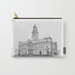 Wayne County Court House | Detroit Michigan Carry-All Pouch