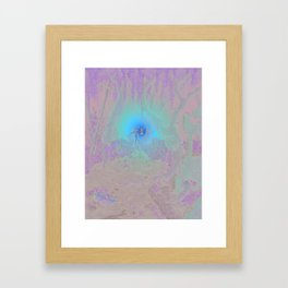So Says The Sound Framed Art Print