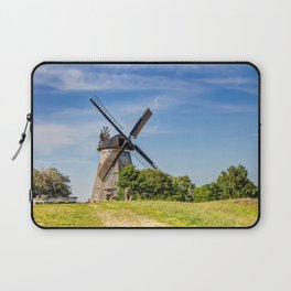 Typical Dutch windmill in Benz on Usedom island Laptop Sleeve