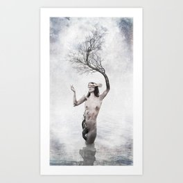 THE FOREST (I) Art Print