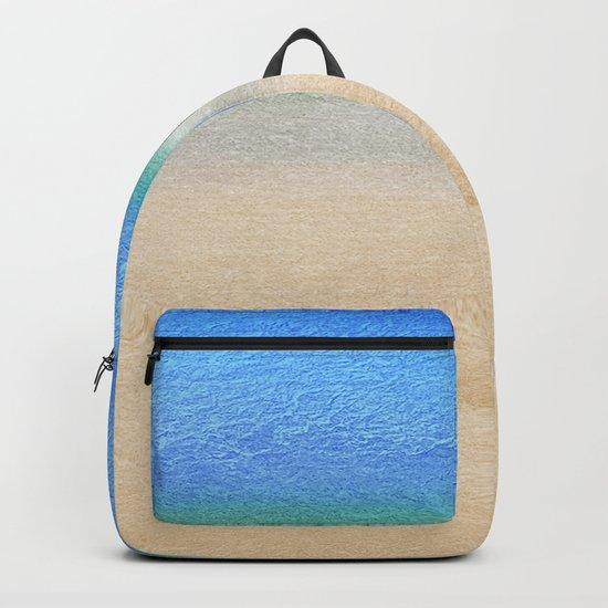 Tropical sea #8 Backpack