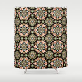 Flower Crown Fiesta Shower Curtain