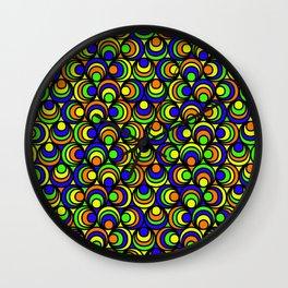 Psychedilic Wall Clock