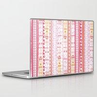 hippie Laptop & iPad Skins featuring HIPPIE BANDANA by Nika