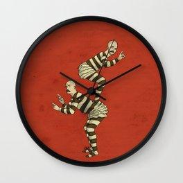 Macho Twins Wall Clock