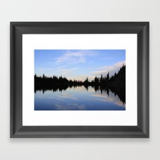 Salmon Lake Framed Art Print