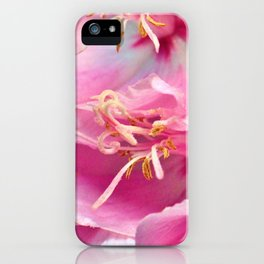 Pink Symphony Floral  of Hope by Reay of Light Photography iPhone Case