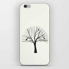 bird tree iPhone & iPod Skin