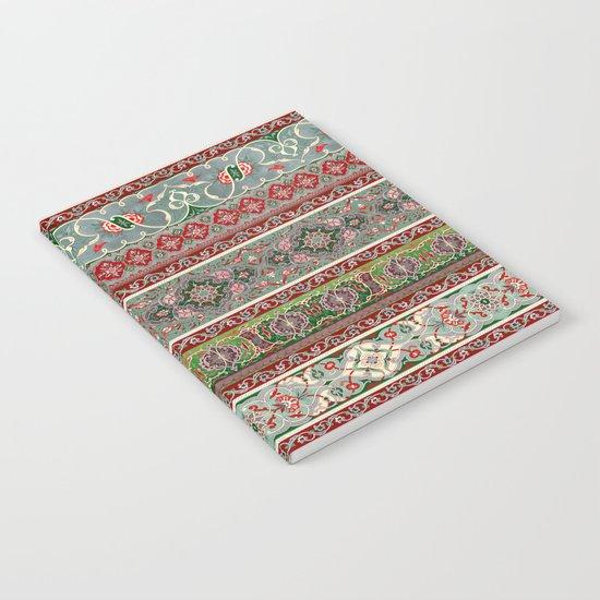 Border Pattern I Notebook