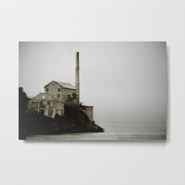 Buildings of Alcatraz Metal Print