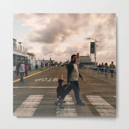 Nobody Can Stop Me from Becoming a Great Father but Me Metal Print