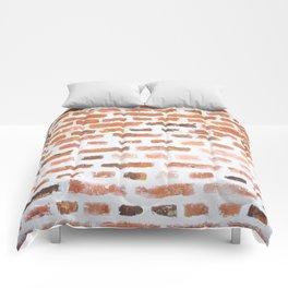 Brick wall Comforters