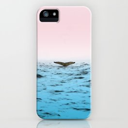 In the Middle of Ocean iPhone Case