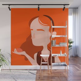 """Color Girl Series: """"Clementine"""" Wall Mural"""