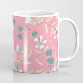 Floral Pink Coffee Mug