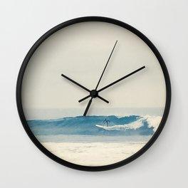 Surfer at Churches Wall Clock