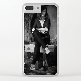 Departing Clear iPhone Case