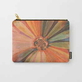 Abstract Autumn Daisy Carry-All Pouch
