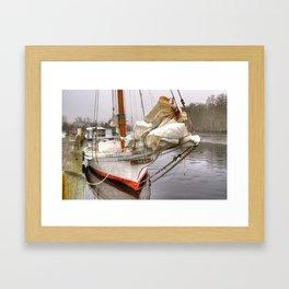 Ida May Framed Art Print