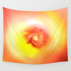 Orange Bliss Wall Tapestry