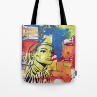 texas Tote Bags featuring Texas by Asher Feehan