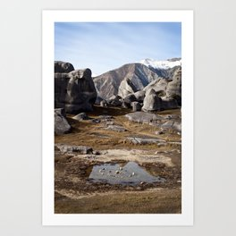 Castle Hill Art Print