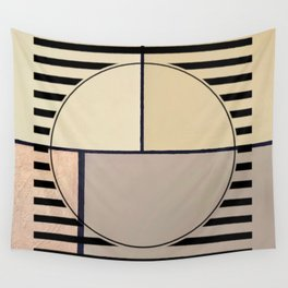 Toned Down - line graphic Wall Tapestry