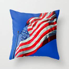 Banner Yet Wave Throw Pillow