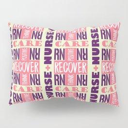 Nurse Tile Pattern Pillow Sham