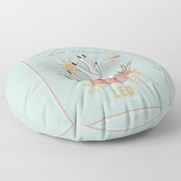 Leo Zodiac Series Floor Pillow