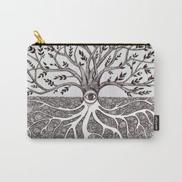 Tree of Life as above so below Carry-All Pouch