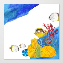 Coral Reef #7 Canvas Print