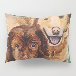 Two Dogs Pillow Sham