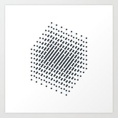 #512 2^9 – Geometry Daily Art Print