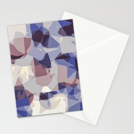 purple and blue modern abstract background Stationery Cards
