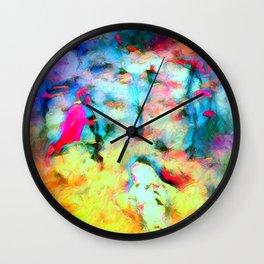 Dream Of Koi Wall Clock