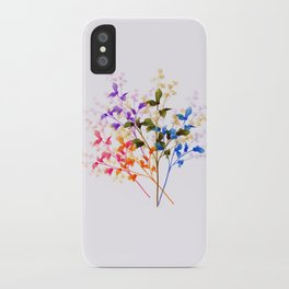 Itty Bitty Flowers iPhone Case