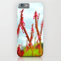 Vibrant Pink Wild Flowers iPhone 6s Slim Case