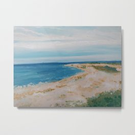 By the Sea Side Metal Print