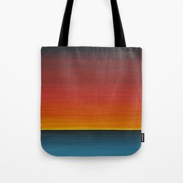 Sea Sunset Meditation Beach Painting Tote Bag