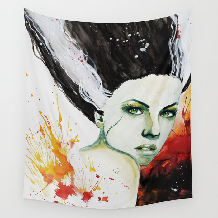 The Bride Wall Tapestry