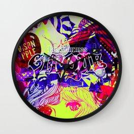 Snow White: lemon mix Wall Clock
