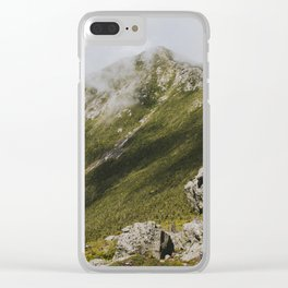 Summer days on the Franconia Ridge Clear iPhone Case