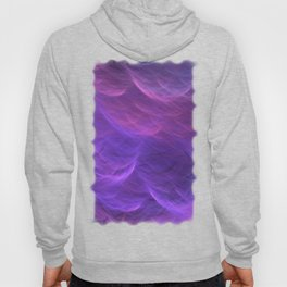 Pink and Purple Ultra Violet Soft Waves Hoody