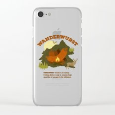 WanderWurst Clear iPhone Case