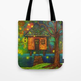 Little House on the Bayou  Tote Bag