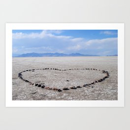 Love in the Flatlands Art Print