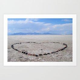 Love in the Flatlands Art Print