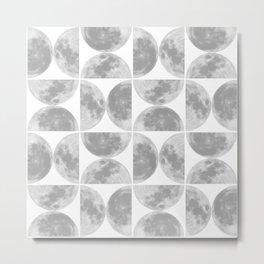 Moon Pattern #2 Metal Print