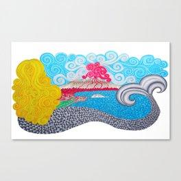 Partenope Canvas Print